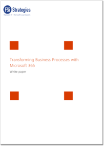 Transforming Business Apps with Microsoft 365 Whitepaper